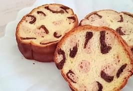 レオパード丸型食パン