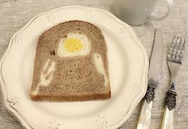 だまし絵食パン
